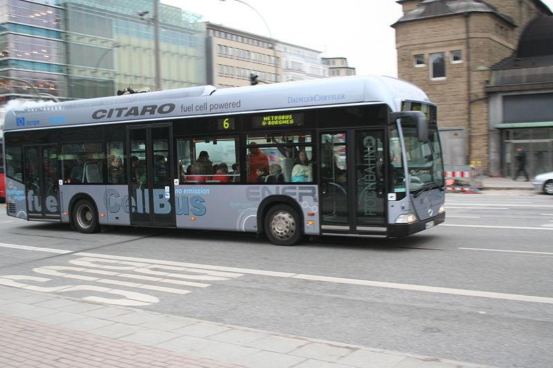 Mercedes Benz Citaro Fuel Cell Hydrogen Motors