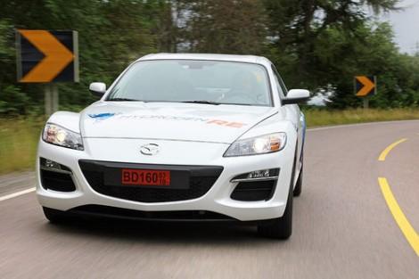 Mazda RX-8 Hydrogen and Premacy Hydrogen Hybrid