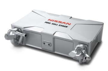 Nissan improved fuel cell