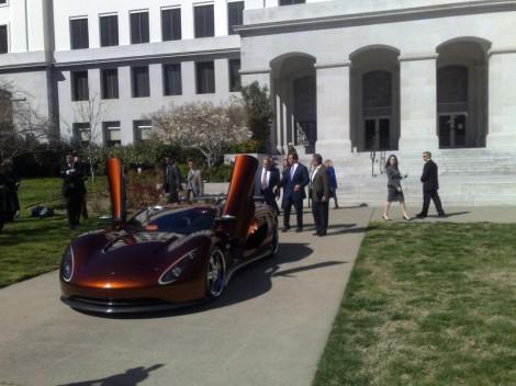 Ronn Motors Scorpion Fuel cell Hybrid