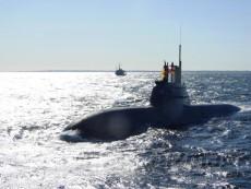 Fuel cell hydrogen Submarine