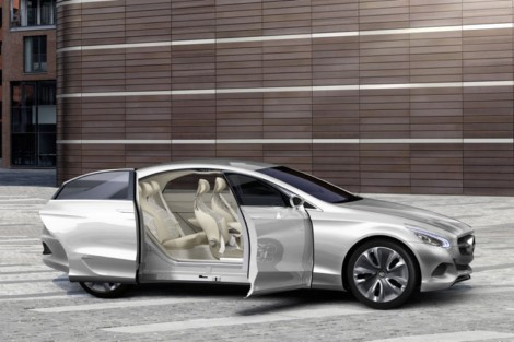 Mercedes F 800 Style Fuel Cell